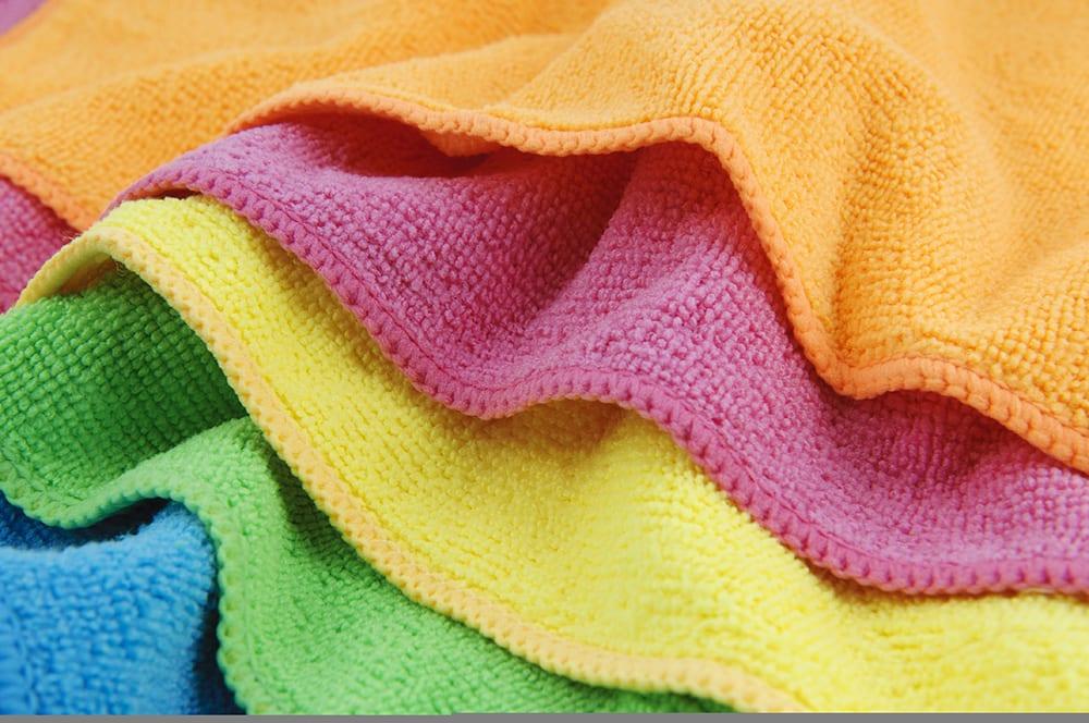 Colorful Microfiber Cloths