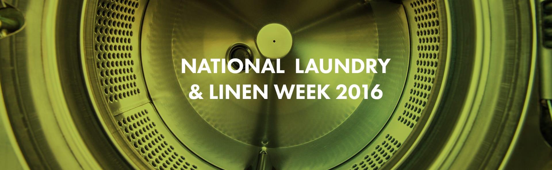 National Laundry & Linen Week 2016 Banner