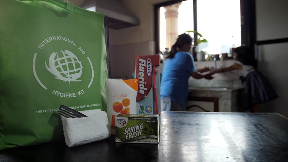 Monarch Brands Washcloth Donation Program