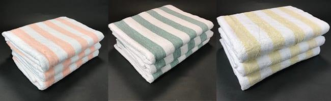 Oversized Irregular Cabana Towels