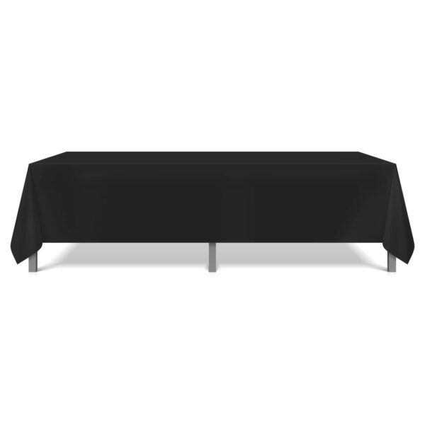 Mariposa Table Linen Black Long