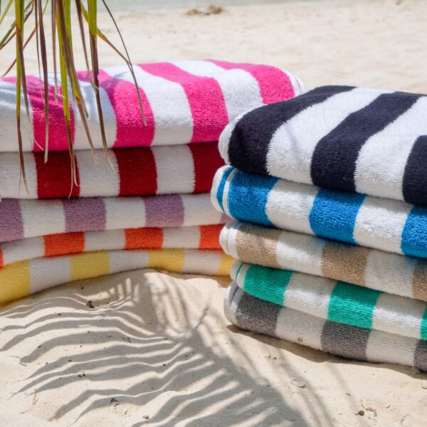 Group of Cabana Beach Towels - stacked