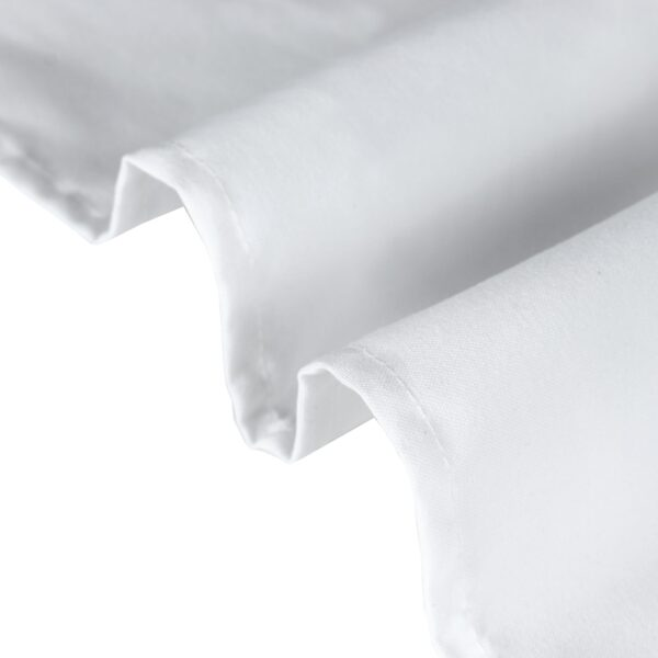 Mariposa Table Linen White Closeup