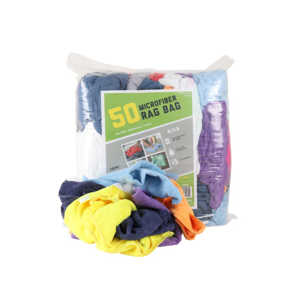 Microfiber Rag Bag 50 Pack