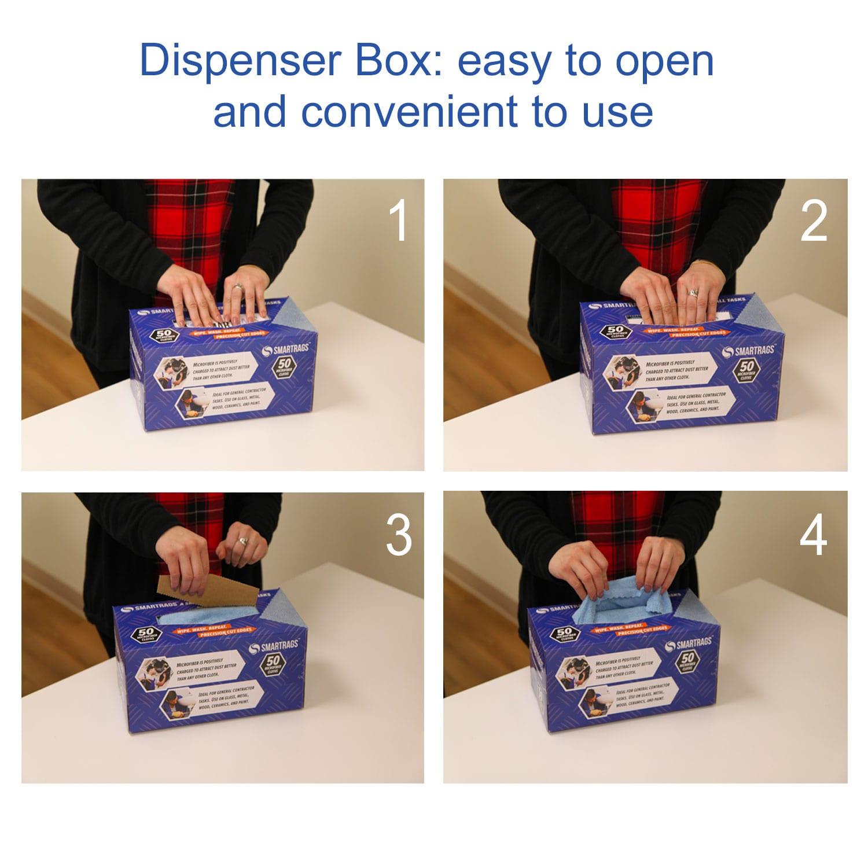 Monarch SmartRag easy to open