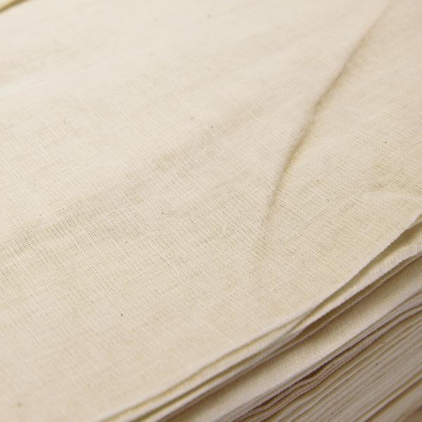 Natural cheesecloth closeup