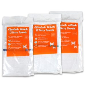 Qwick Wick Terry Towels