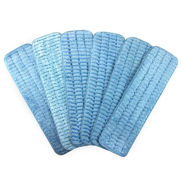 Scrubbing Wet Mop Blue group fanned out