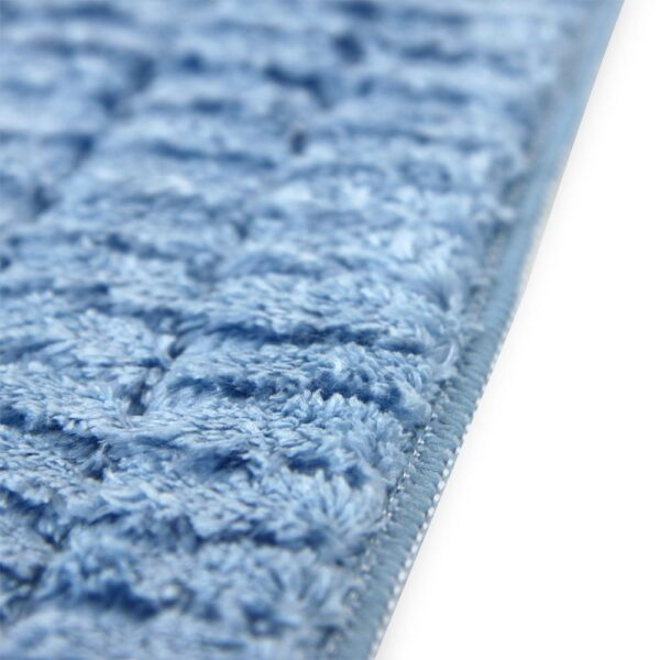 Scrubbing Wet Mop Blue closeup