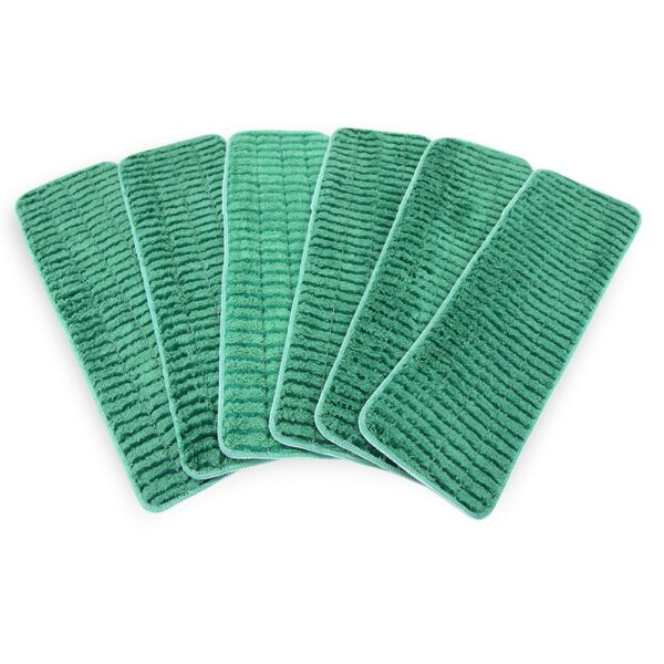 Scrubbing Wet Mop Green group fanned out