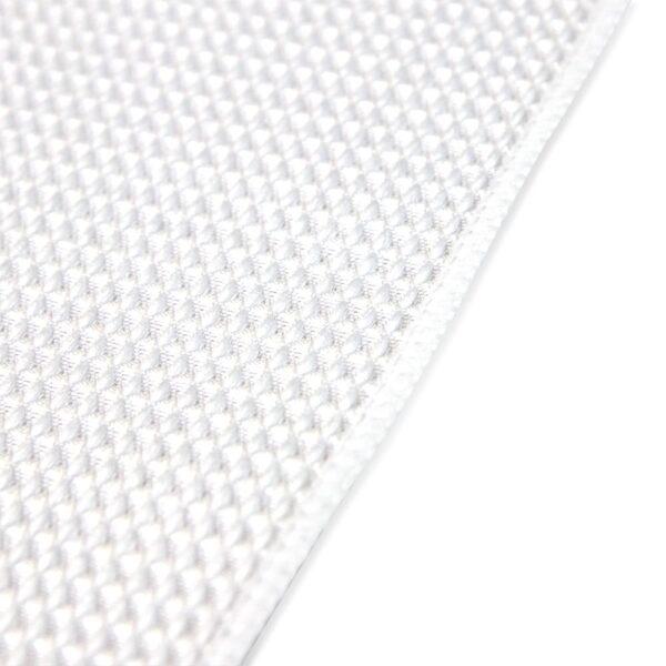 White Waffle Microfiber Hand Towels closeup