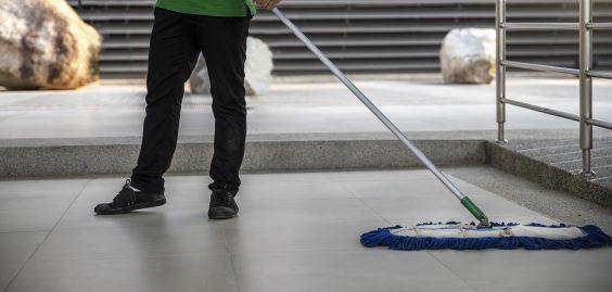 SmartChoice Microfiber Dry Floor Cleaning