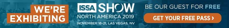 ISSA Show banner