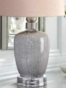 Lamp design made with cheesecloth