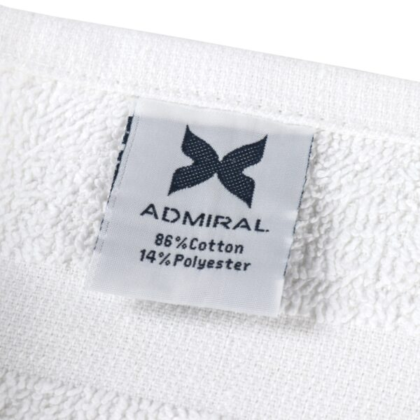 Admiral Hospitality Collection tag closeup