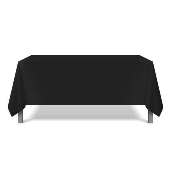 Mariposa Table Linen - Black Square