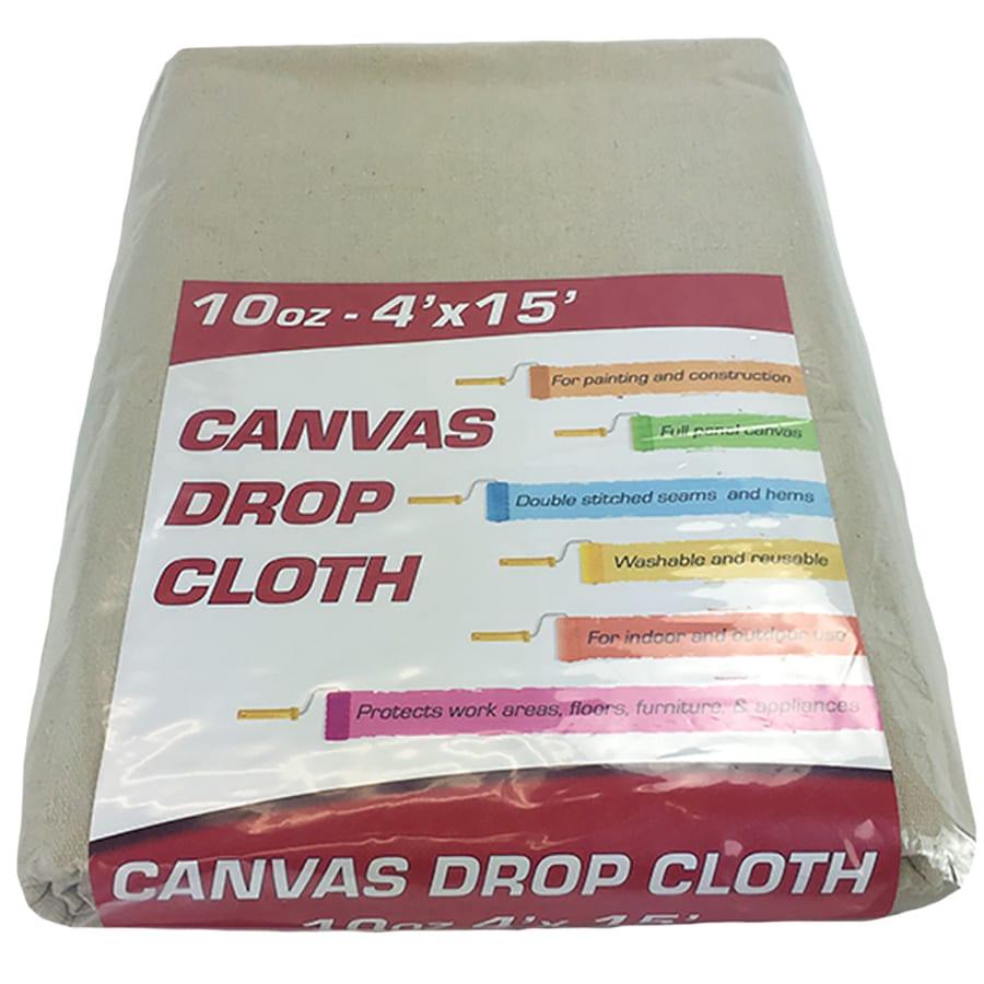 Canvas drop cloth - 10oz 4x15