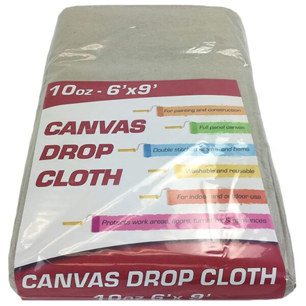 Canvas drop cloth - 10oz 6x9