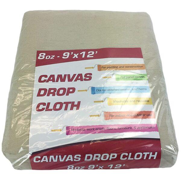 Canvas drop cloth - 8oz 9x12