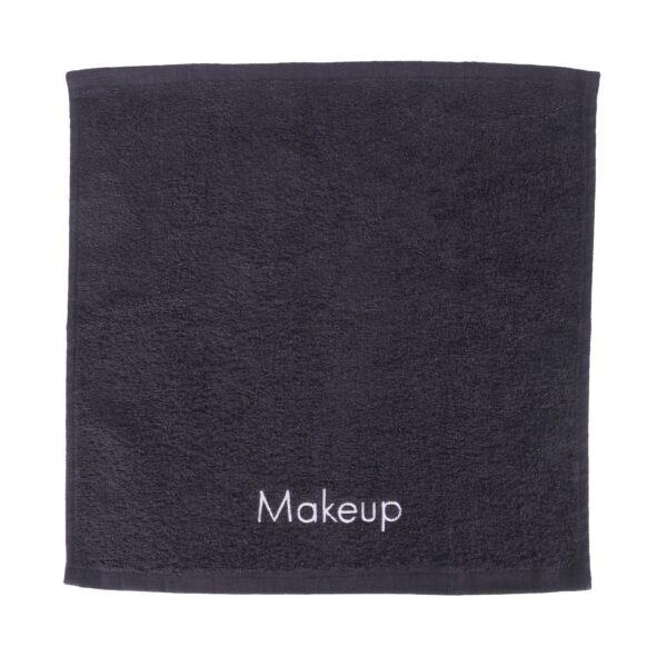 Makeup towel flat