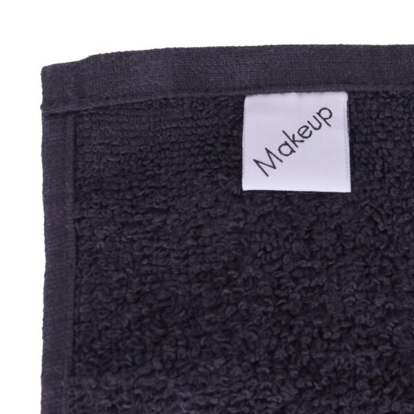 Monarch Makeup Towel tag closeup