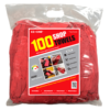 Retail Packed Red Shop Towels - 100-pack