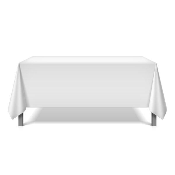 Mariposa Table Linen - White Square