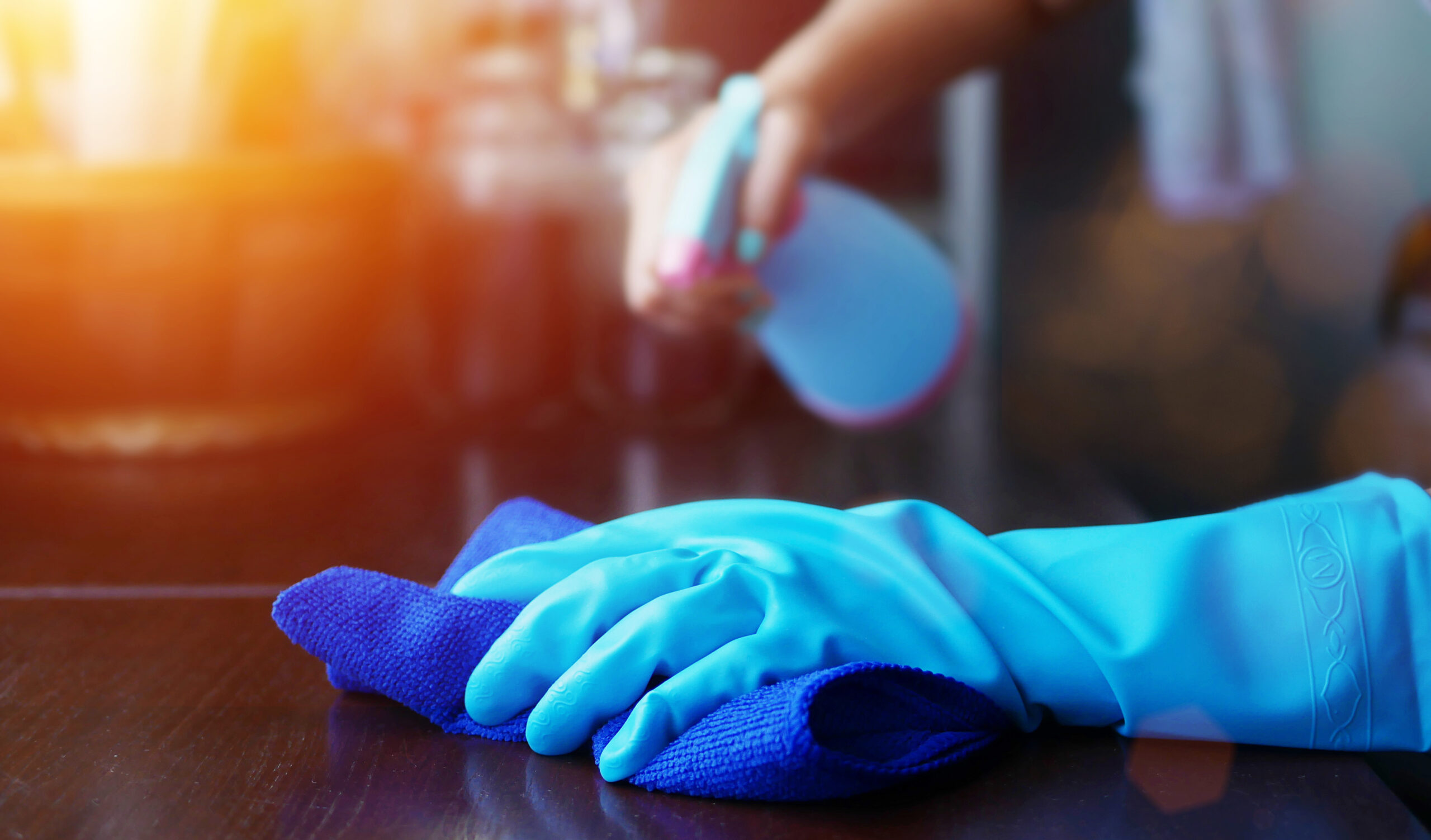 Color-Coded Microfiber Cleaning Systems