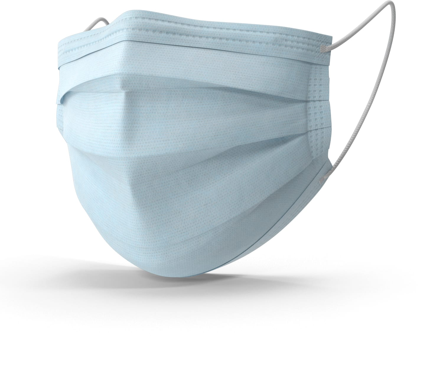 3-ply blue mask