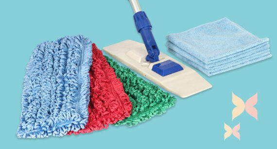 Caring for your microfiber cloths and mops