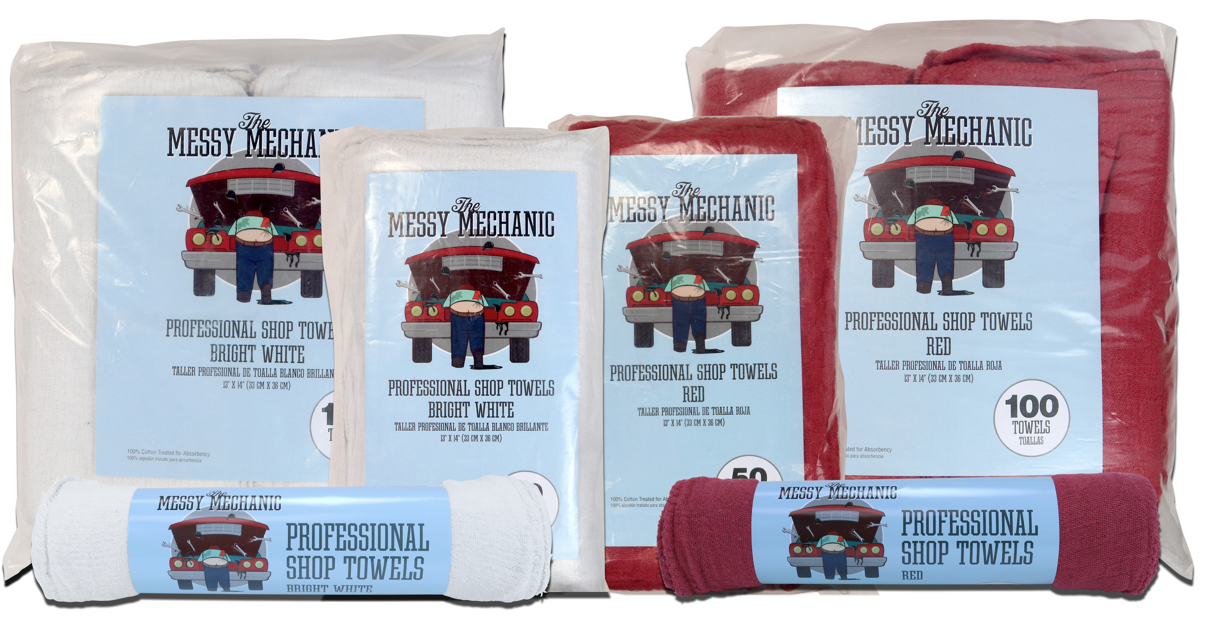 Messy Mechanic Group packaged