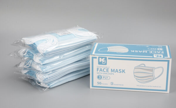 3-Ply 50 count mask
