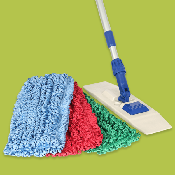 Mesh Backed Side Pocket Mop