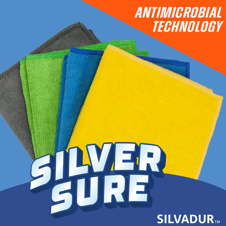 SilverSure Antimicrobial Treated Cloths