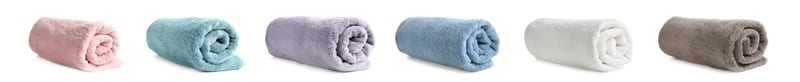 rolled-color-towels