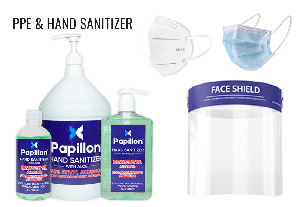 PPE and Hand Sanitizer