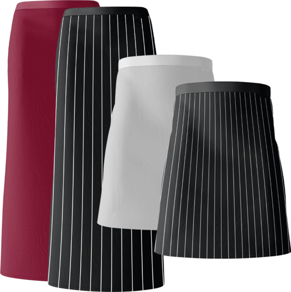 Various Bistro Aprons group