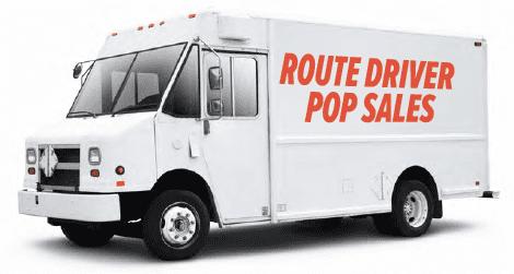 Route Driver Pop Sales Truck
